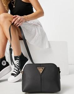 Черная маленькая сумка-тоут с металлическими деталями River Island RR-Черный цвет