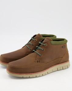 Светло-коричневые кожаные ботинки чукка Barbour Nelson-Коричневый цвет