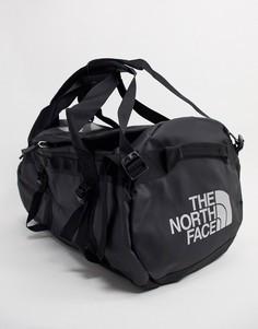 Черная спортивная сумка среднего размера The North Face Base Camp, вместимость 71 л-Черный цвет