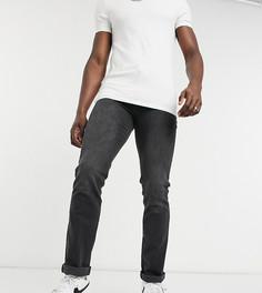 Суженные книзу джинсы стретч серого выбеленного цвета Duke-Серый