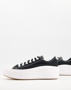 Черные кроссовки Converse Chuck Taylor All Star Move ox-Черный цвет