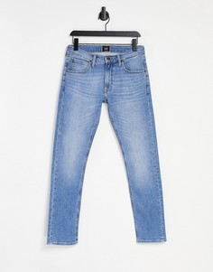 Зауженные джинсы Lee Luke-Голубой