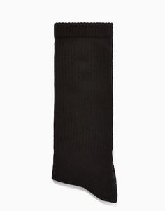 Черные носки без пятки Topman-Черный цвет