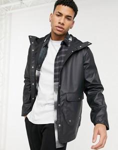 Парка-дождевик с карманом и капюшоном Herschel Supply Co-Черный цвет