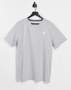 Серая футболка New Balance Running-Серый