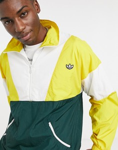 Желтая спортивная куртка adidas Originals-Желтый