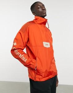 Оранжевая куртка-анорак Columbia Santa Ana-Красный