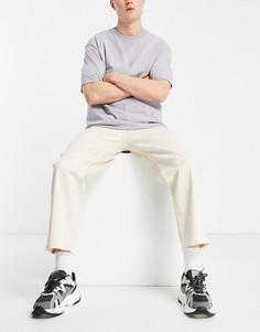 Широкие джинсы до щиколотки цвета экрю Jack & Jones Intelligence Rob-Нейтральный