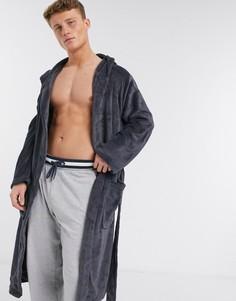 Серый халат New Look