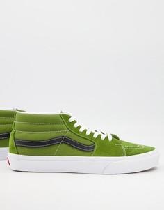Многоцветные кроссовки средней высоты Vans UA Sk8-Многоцветный