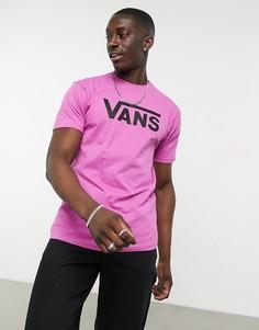 Разноцветная классическая футболка Vans-Многоцветный