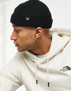 Черная шапка-бини в рыбацком стиле The North Face-Черный цвет