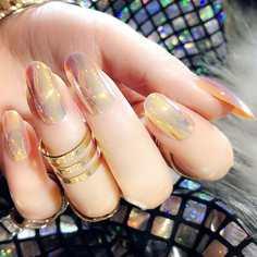 Круглые накладные ногти 24шт Shein