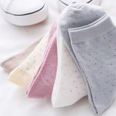Носки с рисунками точк 5 пар Shein