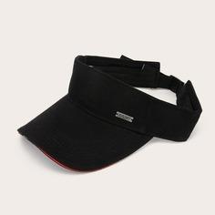 Мужская шляпа козырька с контрастной отделкой Shein