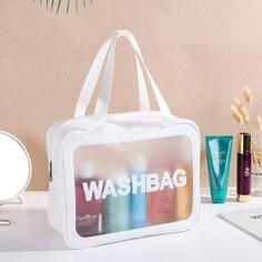 Дорожная сумка для хранения с текстовым принтом Shein