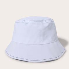 Мужская однотонная шляпа Shein