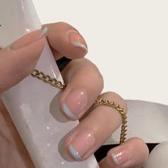 24шт накладные ногти и 1 лист лента Shein