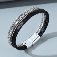 Мужской цепной многослойный браслет Shein