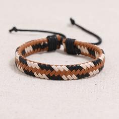 Мужской плетеный браслет Shein