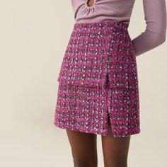 Твидовая мини-юбка Shein