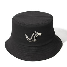 Мужская шляпа с вышивкой динозавра Shein