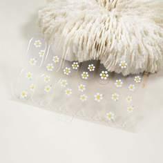 1 лист Стикер для ногтей с цветочным узором Shein