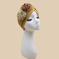 Шапка-тюрбан с декором цветка Shein