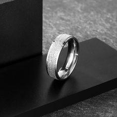 Мужское кольцо из нержавеющей стали Shein