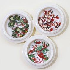 3 коробки рождественские наклейки для ногтей Shein