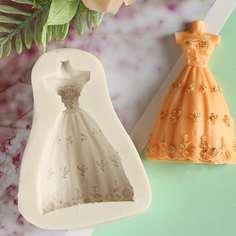 1шт форма в форме свадебного платья Shein