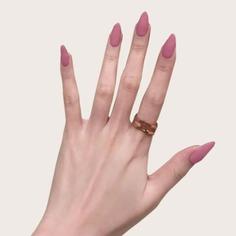 Остроконечные накладные ногти и лента 24шт Shein