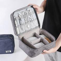 Дорожная сумка для хранения электронных аксессуаров Shein