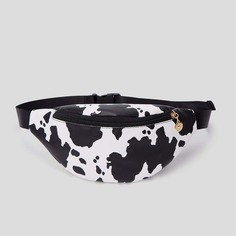 Поясная сумка с коровьим с узором Shein