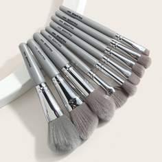 9шт набор кистей для макияжа Shein