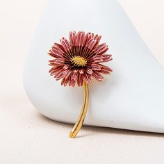 Брошь в форме цветка Shein