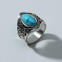 Мужское винтажное кольцо Shein