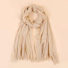 Однотонный шарф Shein