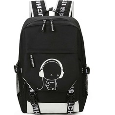 Мужский рюкзак с графическим принтом Shein