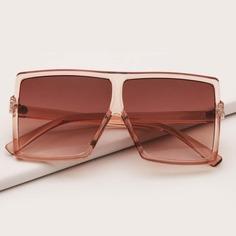 Детские солнечные очки в акриловой оправе Shein