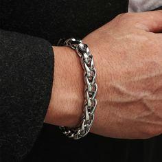 Мужской минималистский браслет Shein