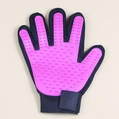 Двухцветная очищающая массажная перчатка для собак Shein