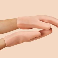 Однотонные увлажняющие перчатки 1 пара Shein