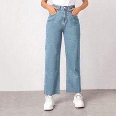 Модные прямые джинсы Shein