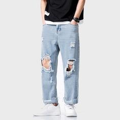 Мужские широкие джинсы Shein