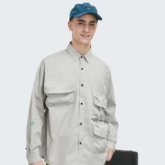 Мужская рубашка с карманом Shein