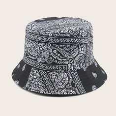 Мужские шляпа пейсли Shein