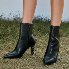Остроконечные ботинки на каблуке Shein