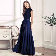 Вечернее платье с молнией сзади и воротником-стойкой Shein