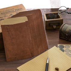 49шт конверт с винтажным узором и писчая бумага Shein
